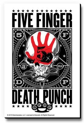 Bravado Five Finger Death Punch USA Fridge Magnet, Door Magnet