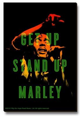 Bravado Bob Marley Get Up Stand Up Fridge Magnet, Door Magnet