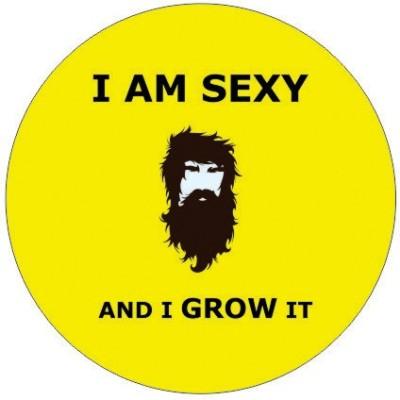 Fashion Fakir Beard Fridge Magnet