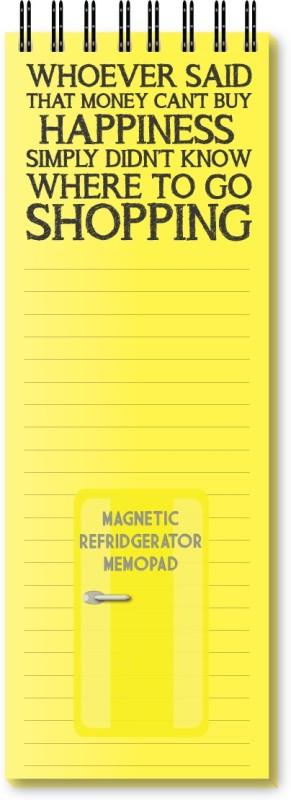 Nourish Regular Memo Pad(Magnetic Memo Pad, Yellow)