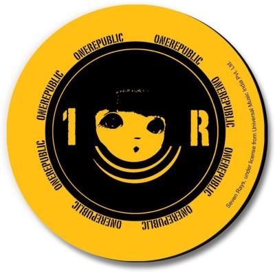 Bravado One Republic 1R Circle Fridge Magnet, Door Magnet