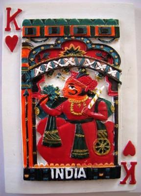 Temple Trees India Maharaja Fridge Magnet