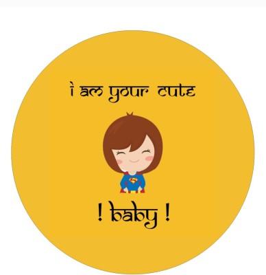 Fashion Fakir I am your cute baby Fridge Magnet