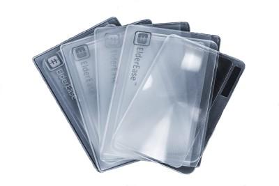ElderEase Fresnel Lens 3 Credit Card Sized Magnifier (Pack of 5)