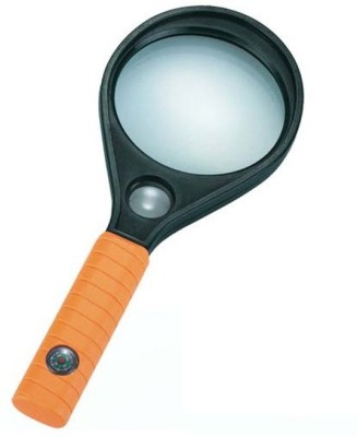 PTCMART Double Lens 4x Magnifying Glass