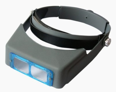 Optivision Head Band Magnifier 3.5X Magnifying Glass