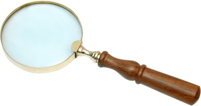 Royal Single Lens Manifier 3.5 Magnifying Glass(Brown)