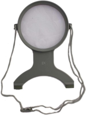Tootpado Handsfree Chest Mount Magnifier - 2X and 4X Zoom View Magnifying Lens - Neck Wear Visual Aid 2X Magnifying Glass