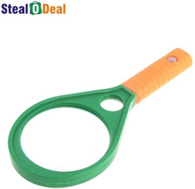 Stealodeal Double Lens Magnifier 4X Magnifying Glass