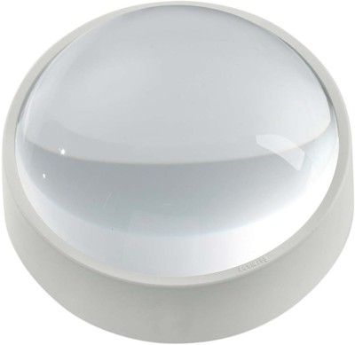 Tootpado 2 inch Dome with Polishing Pouch, Reading Magnifying Glass (50mm) 4x Page Magnifier
