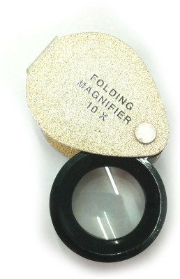 NET Pocket Magnifier With Protective Cover 10X Magnifying Glass