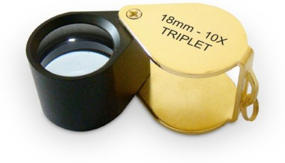 United Industries Achromatic Triplet Lens 10X Jeweler's Loupe