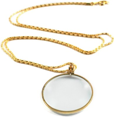 Star Magic Pendant With Chain 4X Magnifying Glass