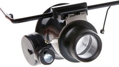 JM LED 5X Magnifying Glass