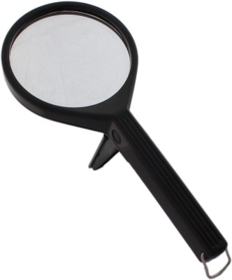 Tootpado Handheld Magnifier with 2.25X(5X) Zoom View Magnifying Lens - Visual Aid 2.25x Magnifying Glass