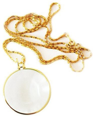 Star Magic Pendant With Chain 5X Magnifying Glass