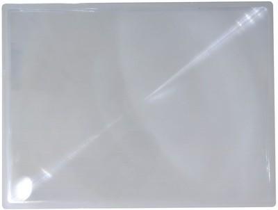 Fresnel Full Page Magnifier Lens Sheet, 3X D.I.Y Projector Lens