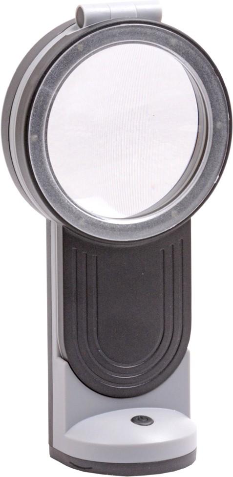 8a5b74d2feea JM 11 led Folding Double Lens Microscope 3x/6x/4.5x Magnifier(Assorted