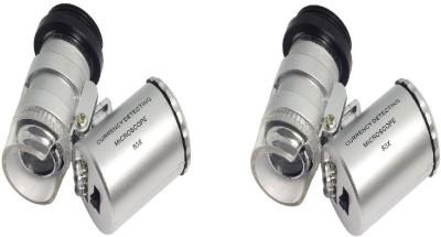 Gade pack of 2 UV Mini Led 60x microscope