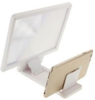 Zink 3D Enlarged Screen 3.5 X Magnifying Glass(White)
