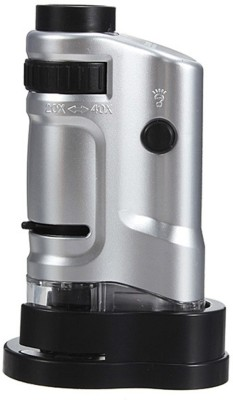 JM 20X - 40X LED Pocket Illuminated 20X-40X Magnifier