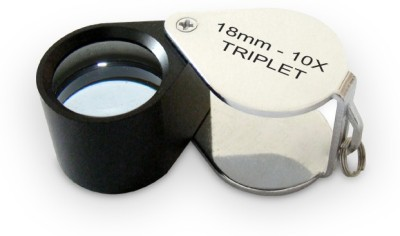 United Industries Achromatic Triplet Lens 10X Jewelers Loupe
