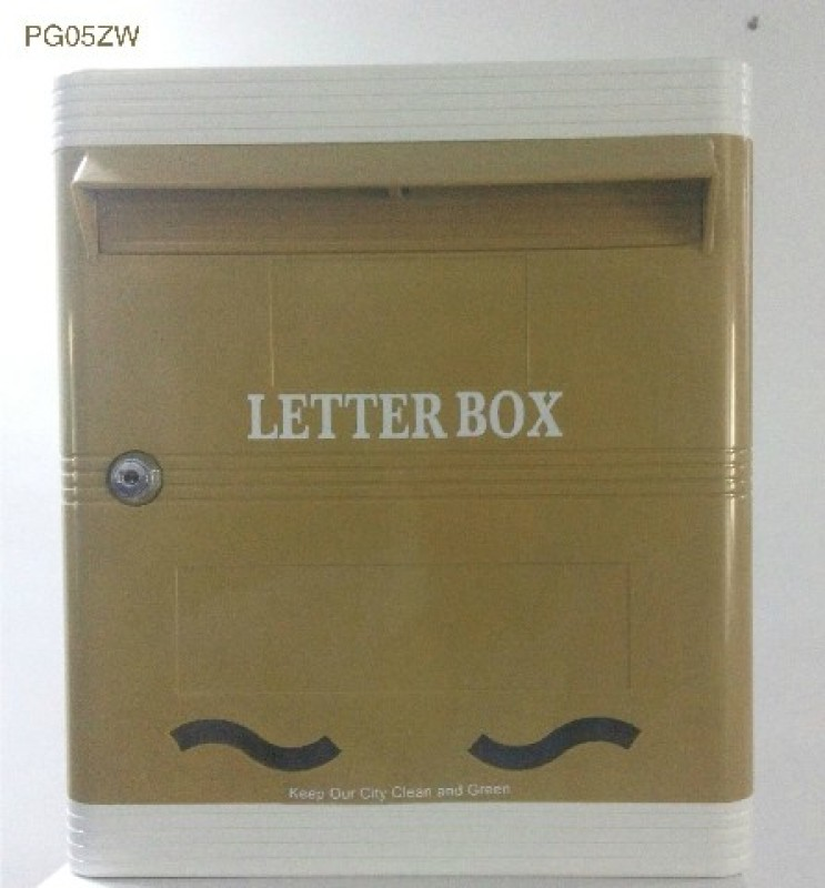 Lamba's Pg05zw Wall Mounted Mailbox(Baze, White)