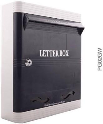 Lamba's PG02GW Wall Mounted Mailbox(GREY-WHITE)