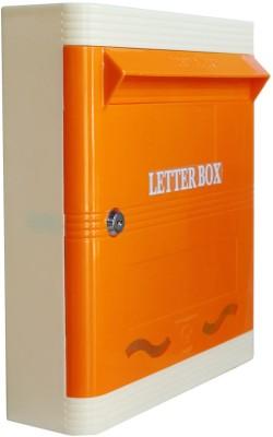 Lamba's Wall Mounted Mailbox(ORANGE-IVORY)