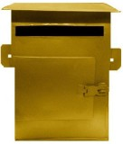 Hansafe Gold Wall Mounted Mailbox (GOLD)