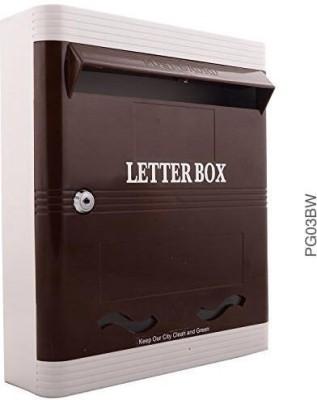 Lambas PG03BW Wall Mounted Mailbox