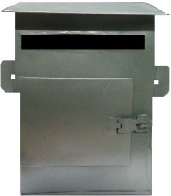 Hansafe Wall Mounted Mailbox(Silver)
