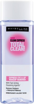 Maybelline Clean Express Total Clean Express Eye & Lip Makeup Remover