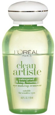 L,Oreal Paris Paris Ideal Clean Artiste Waterproof & Long Wearing Eye Makeup Remover