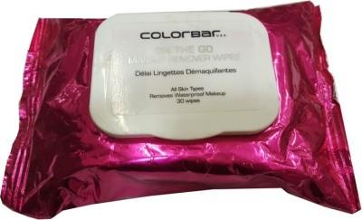 Colorbar make up remover wipes(60 g)
