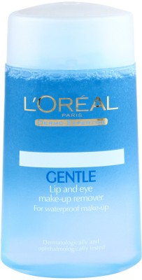 L,Oreal Paris Dermo Expertise Gentle Lip and Eye Makeup Remover(125 ml)