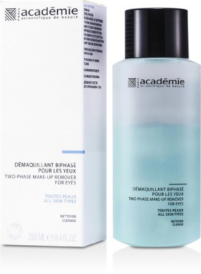 Academie Hypo-Sensible Two Phase MakeUp Remover For Eyes(250 ml)