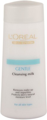 L,Oreal Paris Gentle Cleansing Milk make-up remover(200 ml)