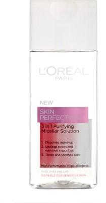 LOreal Paris Skin Perfection 3 in 1 Purifying Micellar Solution