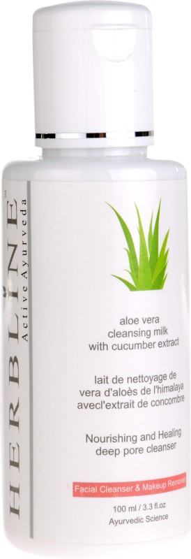 Herbline Aloe Vera Cleansing Milk Makeup Remover(100 ml)