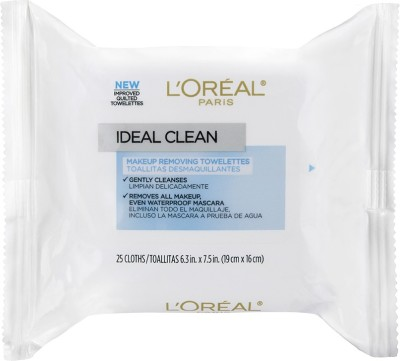 L,Oreal Paris Ideal Skin Make Up Removing Towelettes