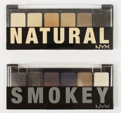 NYX The Natural / Smokey Shadow Palette -