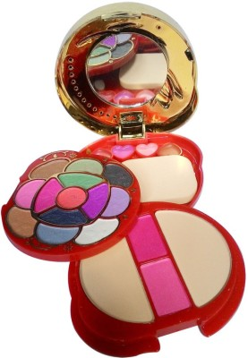 ADS ADS-13Eyeshadow::2Blusher::2CompactPowder::4LipColor::1Puff::1Mirror::Makeupkit