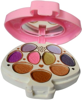 ADS ADS-9Eyeshadow::2Blusher::1CompactPowder::4LipColor::1Puff::1Mirror::Makeupkit