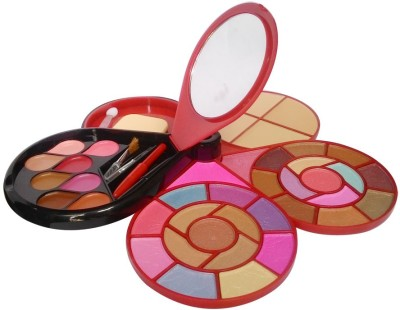 TYA 26Eyeshadow--3Blusher--4CompactPowder--8Lipcolor--1shimmer--1Puff--1Mirror