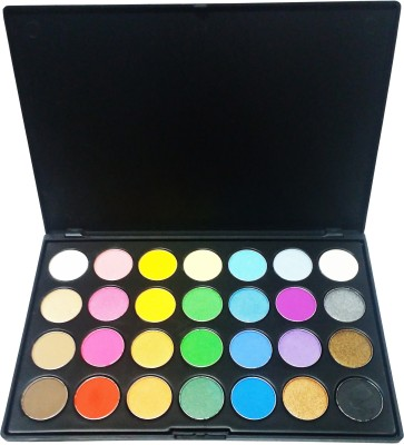 MIB Eyeshadow Palette Travel Makeup Kit (28 Colors)
