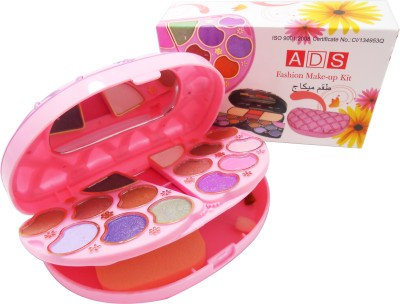 ADS ADS Fashion Colour Make-up Kit With Free Mars Eye/Lipliner & Adbeni Accessories-AUUG