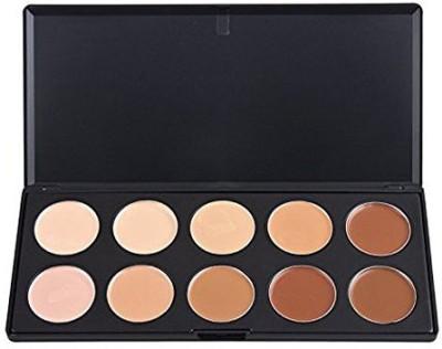 Easy lifestyles lifestyles Professional 10 Warm Colors Concealer Camouflage Foundation Makeup Contour Palette Face Contouring Kit