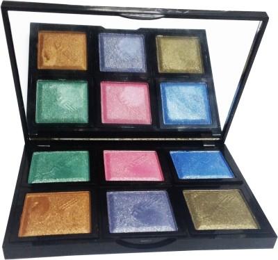 MIB Eyeshadow Palette Travel Makeup Kit