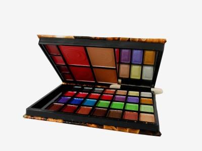 Adbeni Lijindie Multi Color Makeup Kit-With Free Mars Eye/Lipliner & Adbeni Accessories-RGRM(Pack of 2)